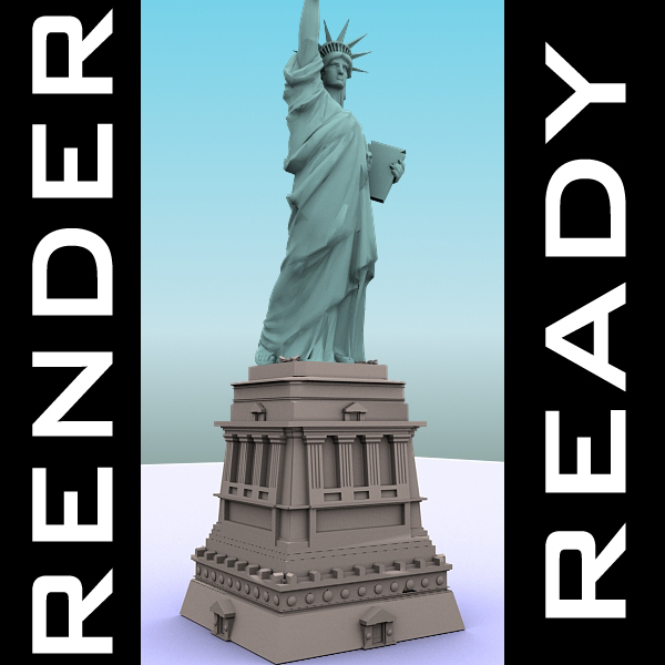3DOcean Statue of Liberty 240221