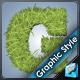 Grass Sod Illustrator Graphic Style
