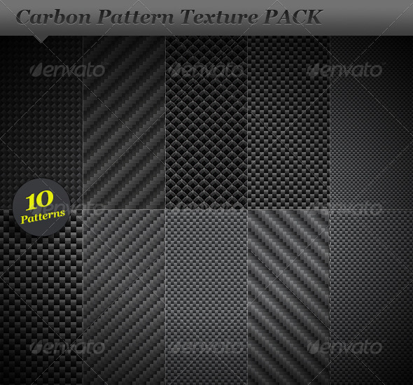 GraphicRiver Fiber carbon pattern background texture 30826