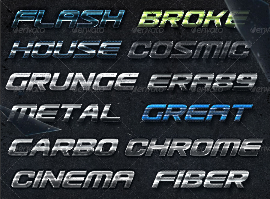 Cinematica Text Effects - PS Styles