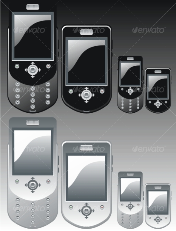 GraphicRiver Vector mobile phone 78523