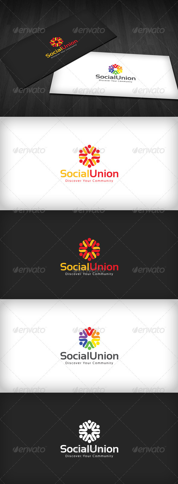 Social Union Logo - Humans Logo Templates