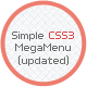 Simple CSS3 Menu