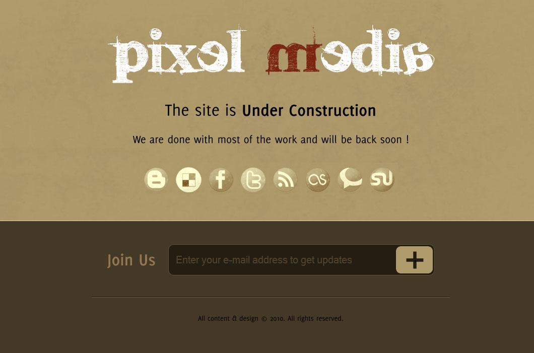 Pixel Media - Under Construction