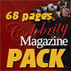 68 Pages Celebrity Magazine Pack - GraphicRiver Item for Sale