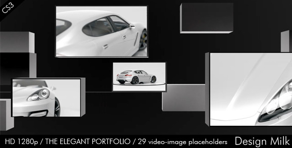 After Effects Project - VideoHive The Elegant Portfolio 2124670