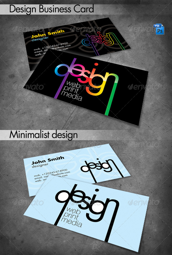 GraphicRiver Design Business Card 240206