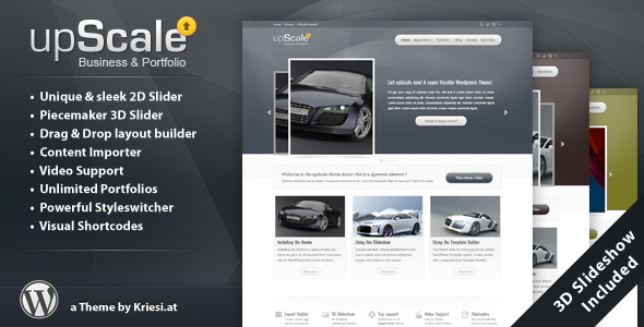 upScale - Wordpress Business & Portfolio Theme