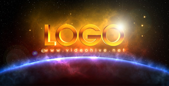 VideoHive Space Logo Revealing 2125247