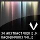 30 Abstract WEB 2.0 Backgrounds vol.2 - GraphicRiver Item for Sale