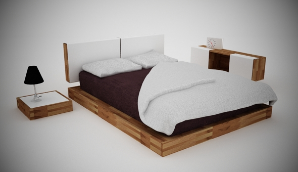 3DOcean Bed SET 80359