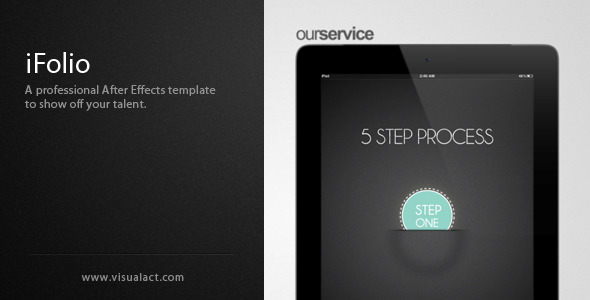 VideoHive iFolio Portfolio After Effects Template 2067007