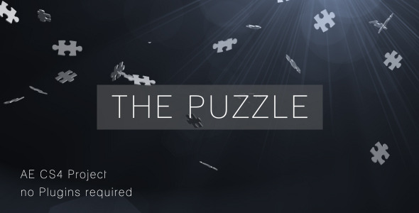 After Effects Project - VideoHive The Puzzle 2128710