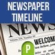 Newspaper Facebook Timeline Template - GraphicRiver Item for Sale