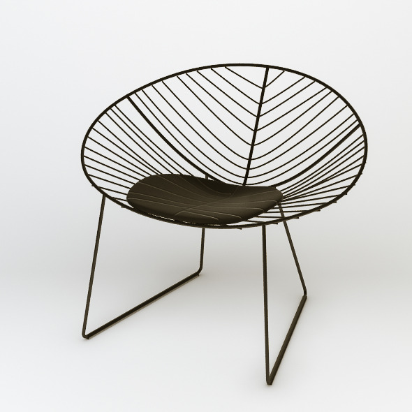 Arper Leaf Lounge Chair - 3DOcean Item for Sale