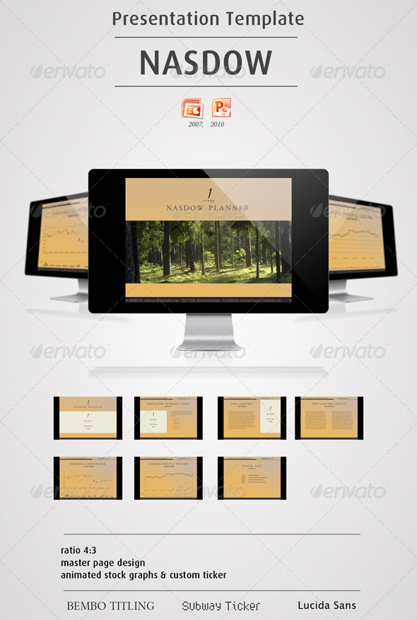 NASDOW - Powerpoint Presentation - Finance Powerpoint Templates
