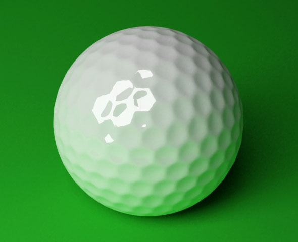 Golf Ball / 3DS MAX - 3DOcean Item for Sale