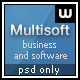 Multisoft - Bussiness and Software Clean Template - ThemeForest Item for Sale