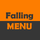 Falling Menu - ActiveDen Item for Sale