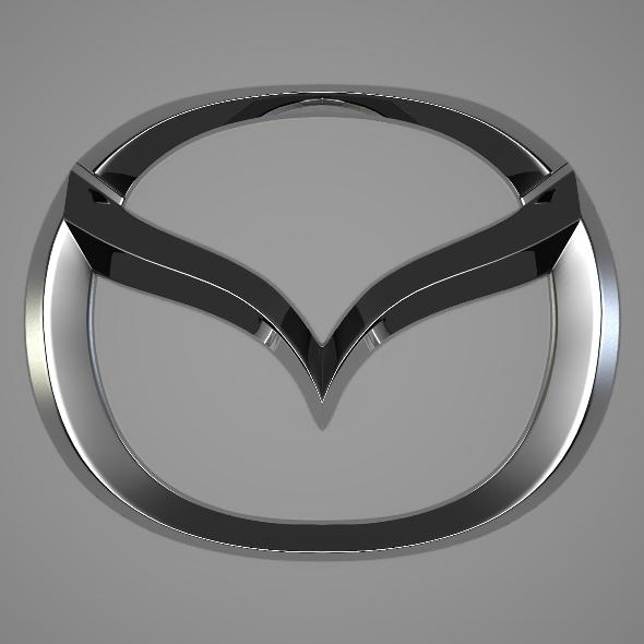 Mazda Logo - 3DOcean Item for Sale