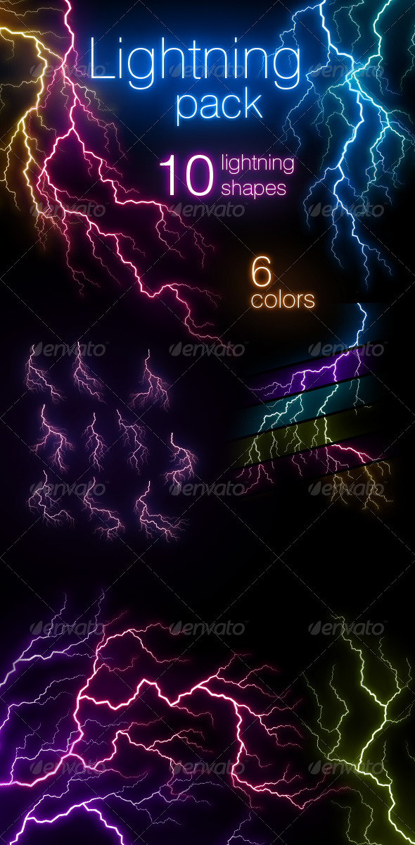 Lightning Pack - Decorative Graphics