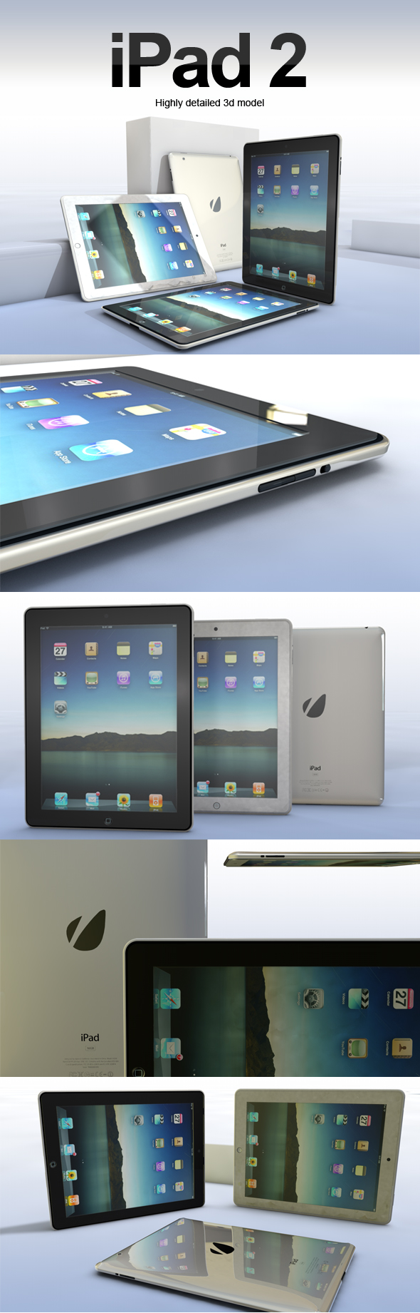 iPad 2 - 3DOcean Item for Sale