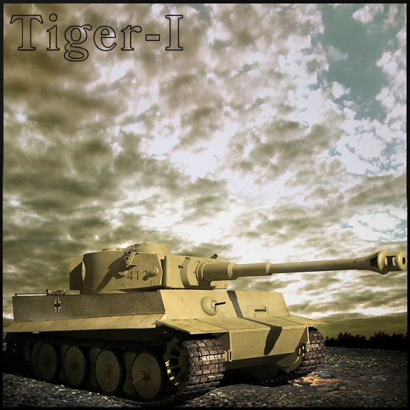 Tiger-1 - 3DOcean Item for Sale