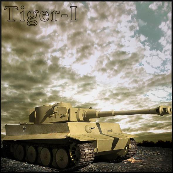 3DOcean Tiger-1 80389