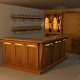 Highpoly detailed Bar
