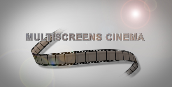 After Effects Project - VideoHive Multiscreens Cinema 242059