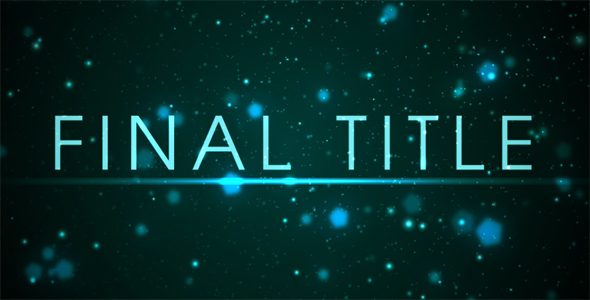 After Effects Project - VideoHive Fast Titles 242087