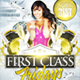 First Class Fridays Party Flyer Template - GraphicRiver Item for Sale