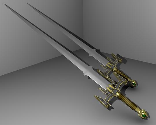 3DOcean Toon sword 80611