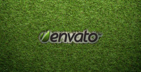 After Effects Project - VideoHive Logo On The Grass 2136669