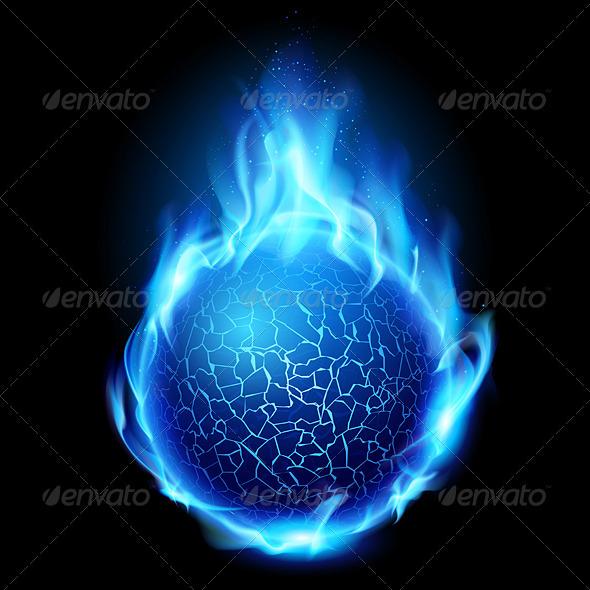 GraphicRiver Fire Ball 2137562