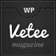 Vetee Magazine WordPress Theme - ThemeForest Item for Sale