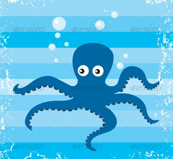 GraphicRiver Vector Octopus 80664
