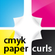 CMYK paper curls - GraphicRiver Item for Sale