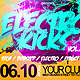 Electro Kicks A3 Party Flyer - GraphicRiver Item for Sale