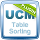 UCM Plugin: Table Sorting - CodeCanyon Item for Sale