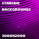 Starline Backgrounds - GraphicRiver Item for Sale