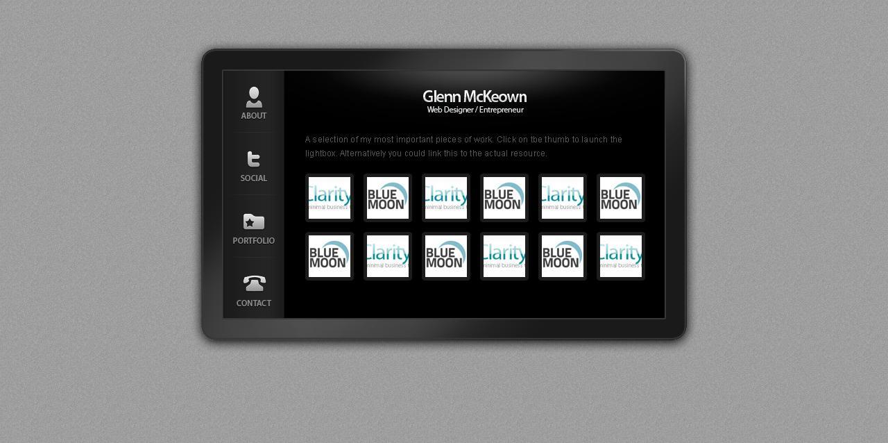 Plasma Card - A Virtual Business Card