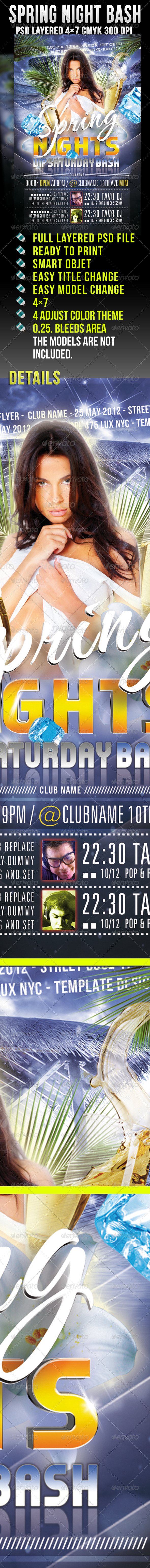Spring Night Bash - Clubs & Parties Events
