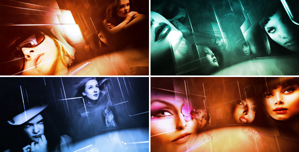 After Effects Project - VideoHive Glass Gallery Opener 2147660