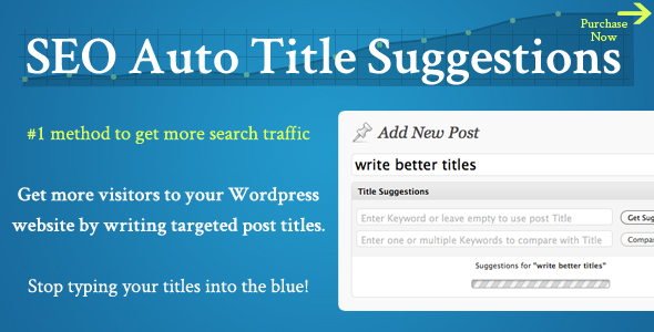 SEO Auto Title Suggestions Premium Plugin wp