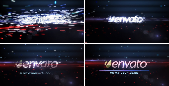 After Effects Project - VideoHive Digital Recovering Logo 243435