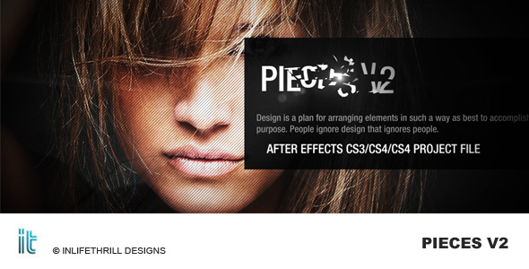 After Effects Project - VideoHive Pieces v2 243450