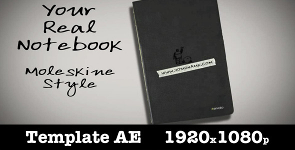 VideoHive Your Real Notebook 2092549