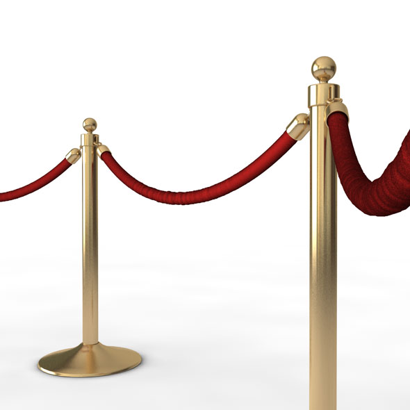 VIP Stanchions - 3DOcean Item for Sale