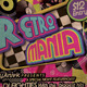 Retro Mania Flyer Template  - GraphicRiver Item for Sale